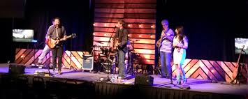 Church Stage Design Ideas Wood Paneling And Lighting