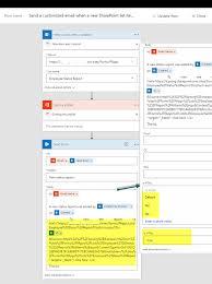 Employee Status Employee Status Report Using Microsoftflow And Sharepoint Online
