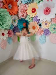 Paper Flower Wall Rental Rent Buy Paper Flower Wall Decorations Design Craft