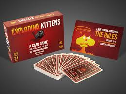exploding kittens card game. Beautiful Game Exploding Kittens Card Game With E