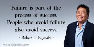 Robert Kiyosaki Quotes Adorable Failure Is Part Of The Process Of Success People Who Avoid Failure