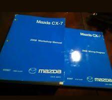 mazda cx 7 repair manual 2008 mazda cx 7 workshop manual shop repair fix book and wiring diagram set