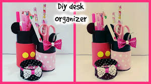 Diy Desk Organizer Diy Desk Organizer Youtube