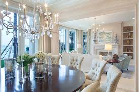 dining room crystal chandelier astonish dining rooms with crystal