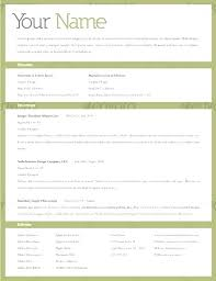 Editable Resume Template Custom Editable Resume Templates Commily