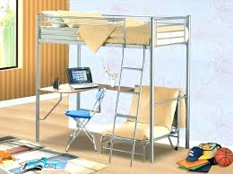 bunk bed with desk underneath bunk bed with sofa underneath awesome metal beds desk and chair