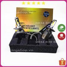 Đèn Led Xe Máy LEDVNRACING Đèn Pha Trợ Sáng ✨ Tăng Sáng ✨ Chân H4 (Giá 1  bóng) NPP ĐÈN LED - Hàng Chất Lượng