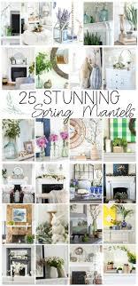 coastal designs furniture. Spring Home Tours Featuring 25 Mantel Ideas. Flowers, Aqua Bottles, Coastal Designs Furniture R