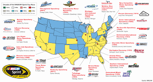40 Maps And Charts That Explain Sports In America Nascar
