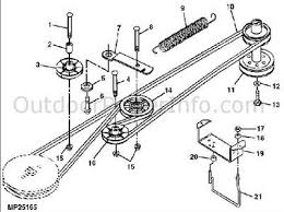 solved diagram of deck belt placement on john deere lx fixya john deere lx series 48 inch deck belt routing diagram