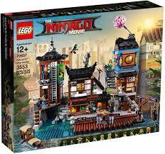 NINJAGO City Docks (70657): all details