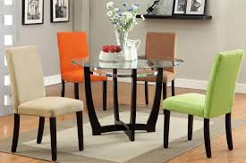 dining room great concept glass dining table. Plain Great Cheap Kitchen Table Traditional Dining Room Concept Enthralling Glass  Round With 4 Beige At Throughout Dining Room Great Concept Glass Table A