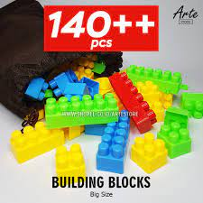 Bộ Đồ Chơi Xếp Hình Lego Cỡ Lớn Giáo Dục Cho Bé chính hãng