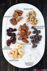 trail mix ingredients. Simple Trail Trail Mix Ingredients And FIVEheartHOME