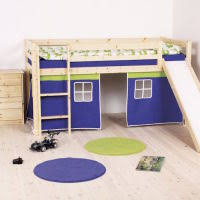Thuka Kid's Castle Loft Bed. Image Source: Thuka