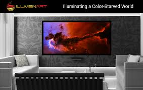 ilumenart is a turnkey art and photography led back lighting system that combines an enhanced color backlit photo frame with the highest quality prints