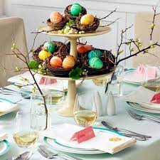 25 ideas for adorable easter table