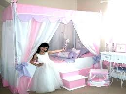 Twin Bed Frame For Little Girl Canopies For Twin Bed Canopy Bed For ...