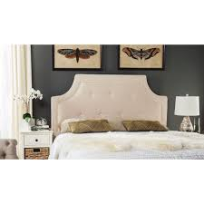 Safavieh Tallulah Beige and White Queen Headboard-MCR4045A-Q - The Home  Depot