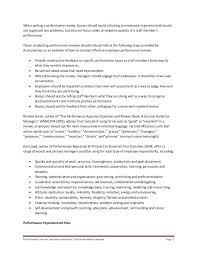 Supervisor Performance Evaluation Phrases Appraisal