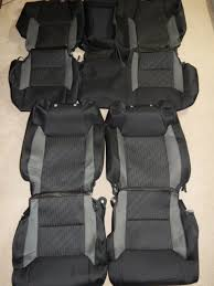 2016 2017 toyota tundra crewmax sr5 trd pro oem factory cloth seat covers