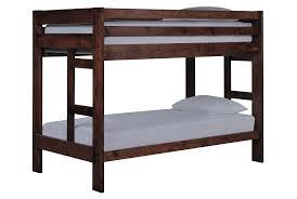 Living Spaces Bedroom Furniture Durango Twin Twin Bunk Bed Beds Living Spaces And Bunk Bed