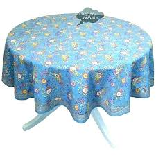 blue round tablecloth black and white tablecloth blue round tablecloth round blue cotton tablecloth by cotton