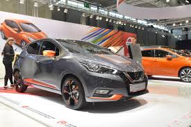 2018 nissan micra. unique nissan 2017 nissan micra front three quarters at vienna auto show in 2018 nissan micra
