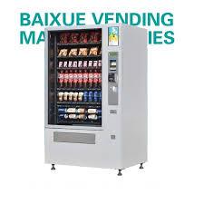 Vending Machine Cooling Unit Custom China Hot Sale Combo Vending Machine With Cooling Units VCM4848