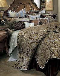 amazoncom michael amini portofino  piece comforter king