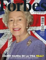 Forbes Julio Agosto   Queen elizabeth, Her majesty the queen, Rankin