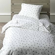 polka dots duvet cover blue dot single