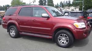 2007 Toyota Sequoia, Salsa Red Pearl - STOCK# 14360A - Walk around ...