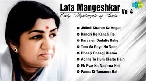 Best of Lata Mangeshkar - Vol 4 | Jhilmil Sitaron Ka Angan ...
