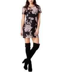 Minkpink Size Chart Minkpink Womens Floral Print Illusion Tunic Dress