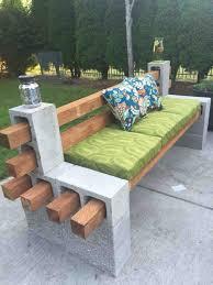 cinderblock furniture. Furniture Outdoor Diy Cinder Block Concrete Countertops Bench Perfect For Cinderblock N