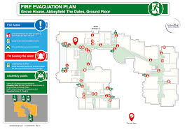 Evacuation Plan Sample 2d Evacuation Plans Silverbear Design Modern Barn Home Plans