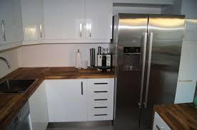 Attractive Offene Küche Mit Side By Side Kühlschrank