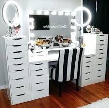 vanities professional makeup vanity table with lights new nity mirror furniture in set box