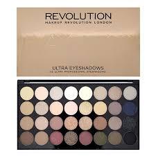 revolution ultra 32 shade eyeshadow palette flawless revolutionbeauty