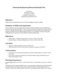 Gallery Of Resume Template For Internship