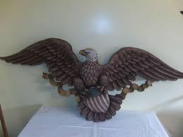 vintage syroco patriotic eagle wall decor 3762 with amazing colors 458229018
