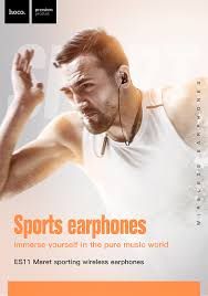 <b>HOCO</b> Sport <b>Bluetooth</b> Earphone IPX5 waterproof Wireless ...