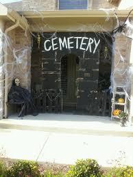 DIY Halloween Cemetery