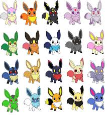Small Picture Pokemon Coloring Pages Eevee Evolutions All Best Of glumme