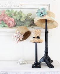 Fascinator Display Stands Custom Lamp Bases As Hat Stands This Is Great Between The Vintage Market