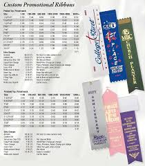 Top Promotional Custom Promotional Ribbons Finished Top Promotional