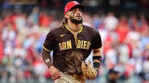 San Diego Padres' Fernando Tatis works ...