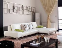 Leather Sectional Living Room Living Room With White Leather Sectional House Decor