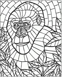 Small Picture 11 Pics Of Mosaic Patterns Coloring Pages Animals Mosaic